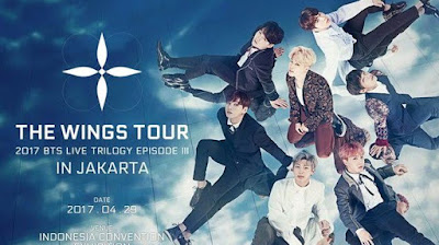 LIVE STREAMING BTS THE WINGS TOUR IN JAKARTA INDONESIA