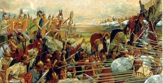 Las guerras macedonicas y la conquista de Oriente