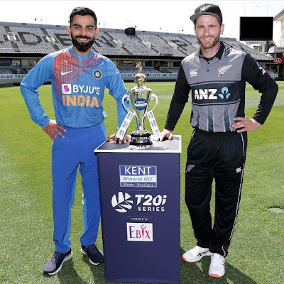 India vs New Zealand T20 series