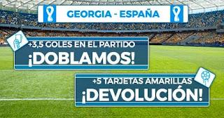 Paston promo Georgia vs España 28-3-2021