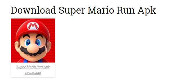 supermario - Attenzione ai download fasulli di Super Mario RUN per Android