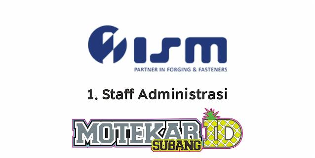 Lowongan Kerja PT Indoseiki Metalutama Februari 2021 - Motekar Subang