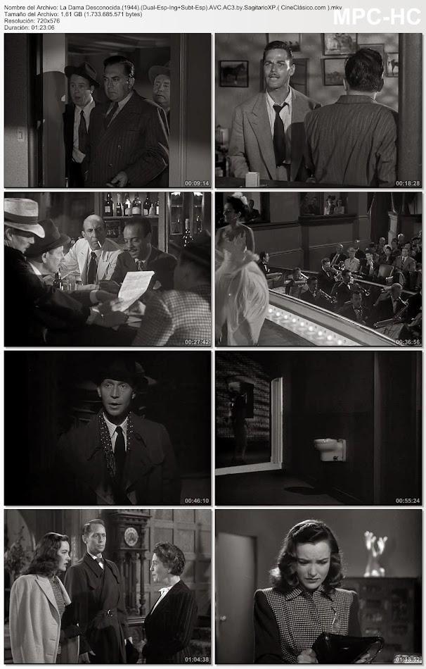 La Dama Desconocida | 1944 | Phantom Lady