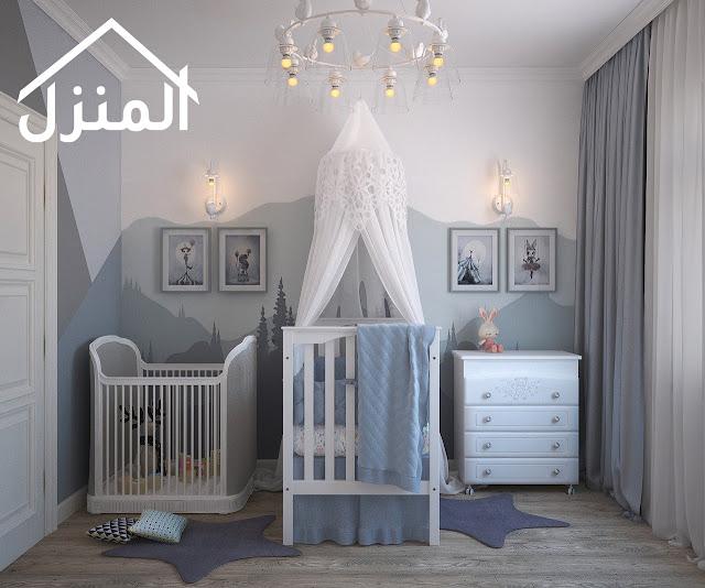 صور ديكورات غرف نوم أطفال كاملة