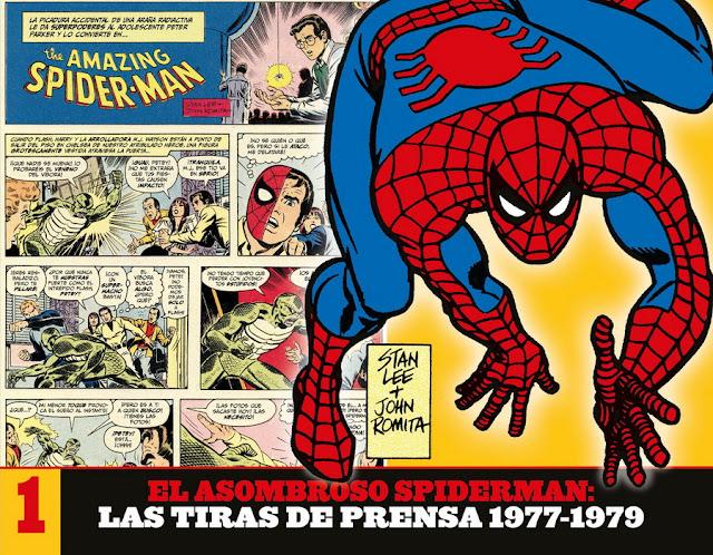 Reseña de El Asombroso Spiderman: Las Tiras de Prensa, Panini Comics.
