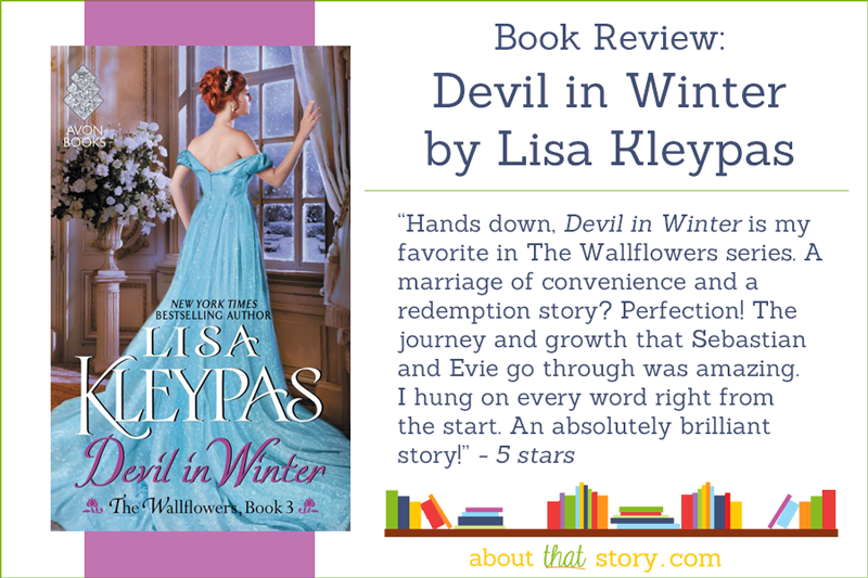 Book Review: Devil in Winter (The Wallflowers #3) by Lisa Kleypas | About That Story