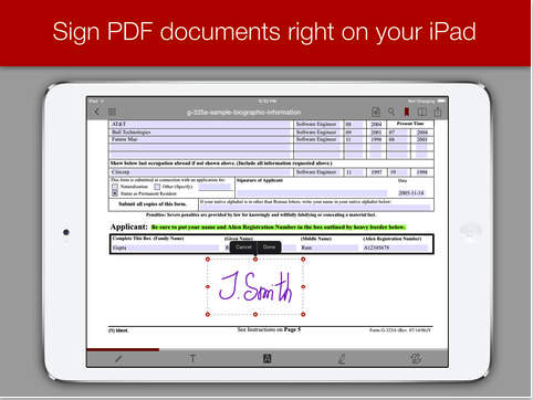 Easily Fill, Sign and Annotate PDFs With This Powerful App