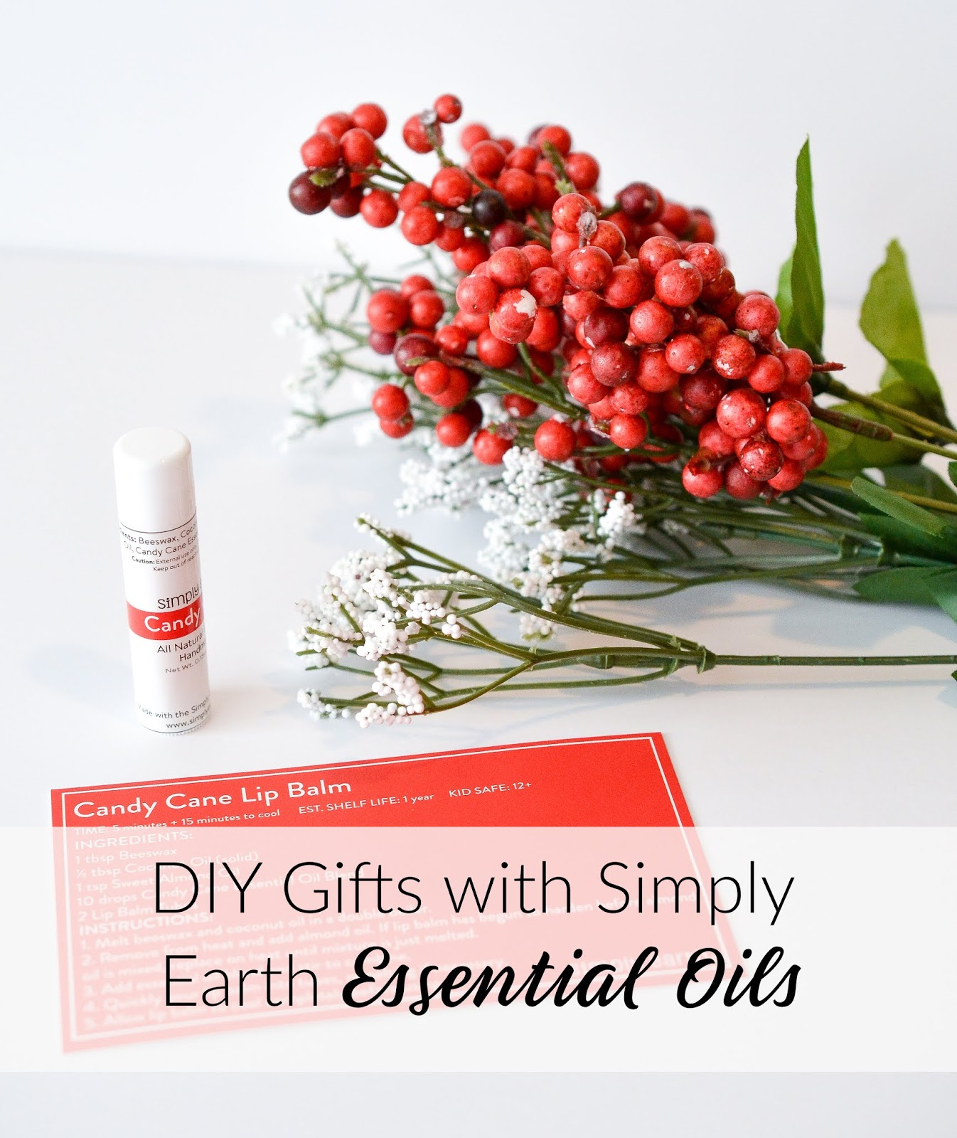 DIY Gifts with the Simply Earth December Essential Oil Subscription Box