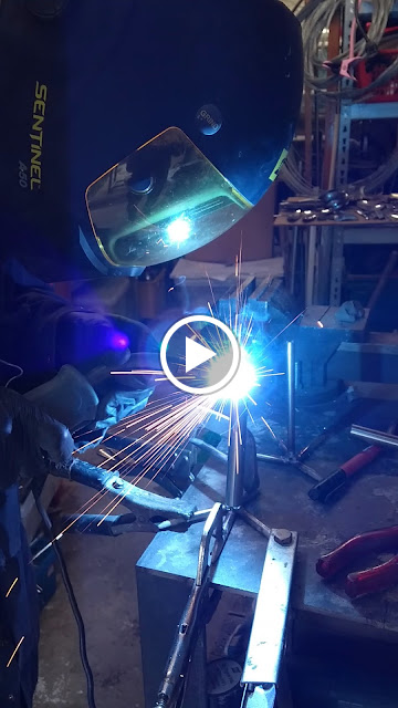 tig welding - ed hill metal art