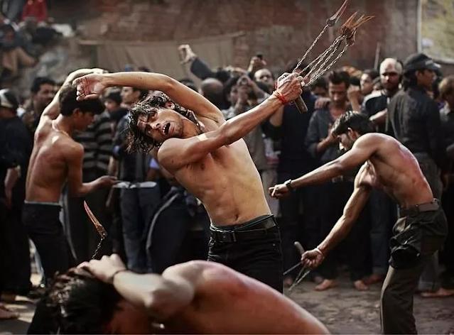 Self-flagellation-Muharram's Mourning