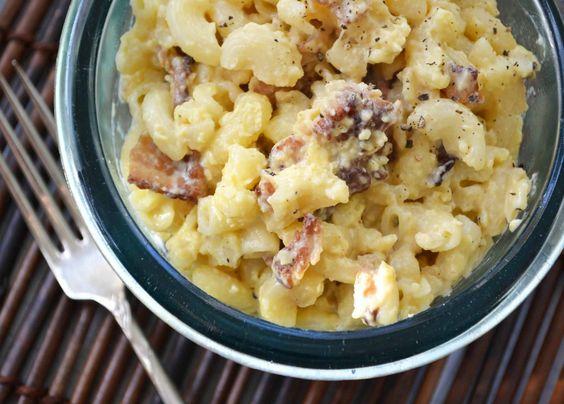 Real Food Fast: Macaroni Carbonara