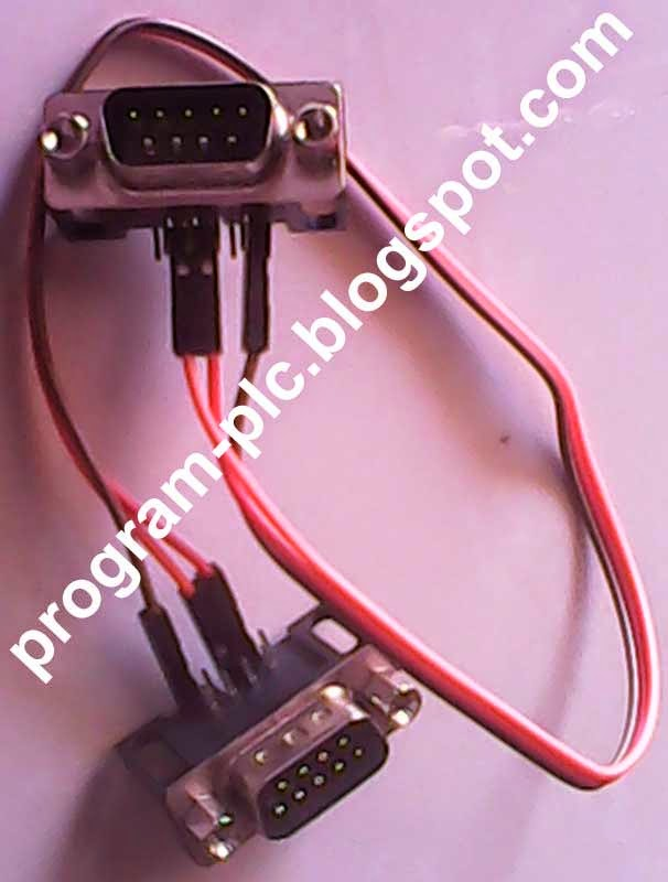 RS232 crossover cable