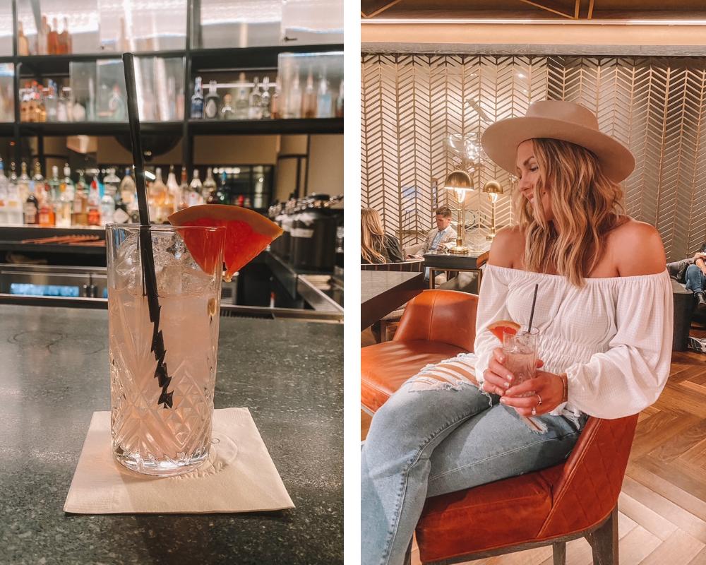 OKC blogger @amandasOK visits the Basin Bar at the Omni