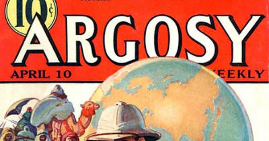 Rough Edges Sunday Morning Bonus Pulp Argosy April 10 1937 border=