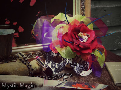 mystic magic, halloween, mask, day of the dead, horror, creative photogrpahy,
