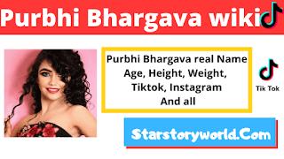 Purabi Bhargava [TikTok Star] Height, Weight, Age, Affairs, Biography & More