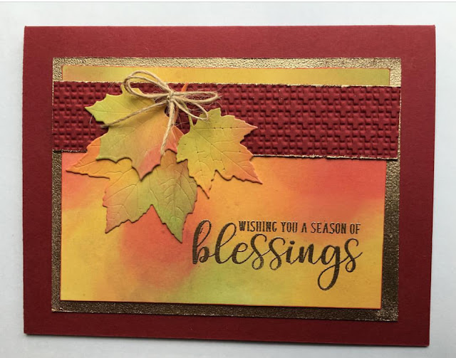 Sunny Studio Stamps: Sunny Saturday Autumn Greetings Card Share by Shelly