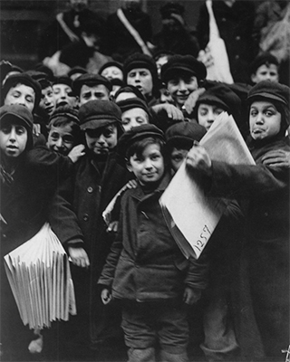 http://kvetchlandia.tumblr.com/post/151786606233/lewis-hine-newsboys-new-york-city-1905