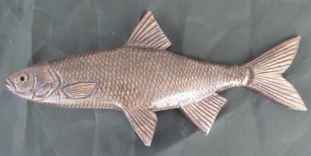 деревянные рыбы России - елец