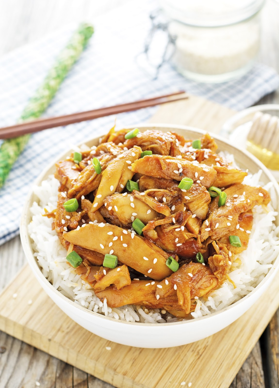 Crock-Pot Honey Sesame Chicken