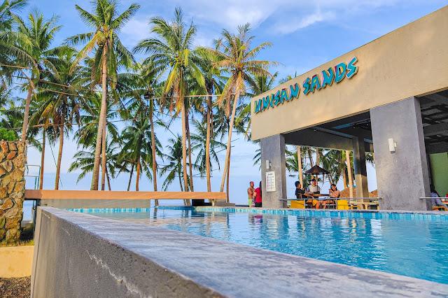 Unisan Sands Infinity Pool, Quezon Tour