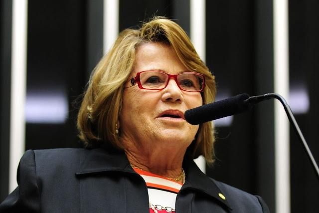 Nilda Gondim, suplente de José Maranhão, assume titularidade do mandato no Senado Federal