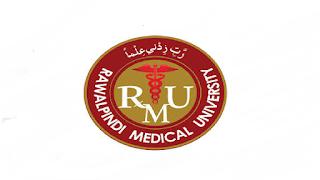 RMU Rawalpindi Medical University New Govt Jobs in Pakistan - Download Job Application Form - www.jobs.punjab.gov.pk New Jobs 2021