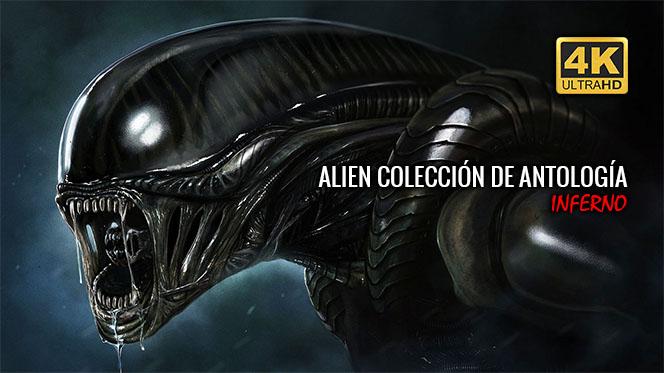 Alien Colección de Antología 4K UHD 2160p Latino-Castellano-Inglés