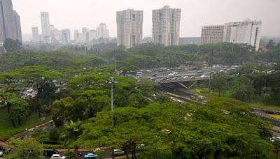 Anies Sudah Tanam 36.320 pohon dan 1.193.670 semak