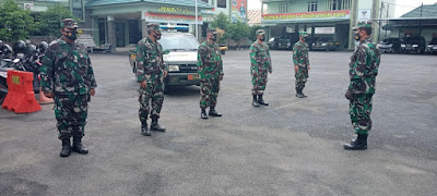 Tingkatkan Keamanan, Personel Kodim 0410/KBL Laksanakan Patroli Kamtibmas