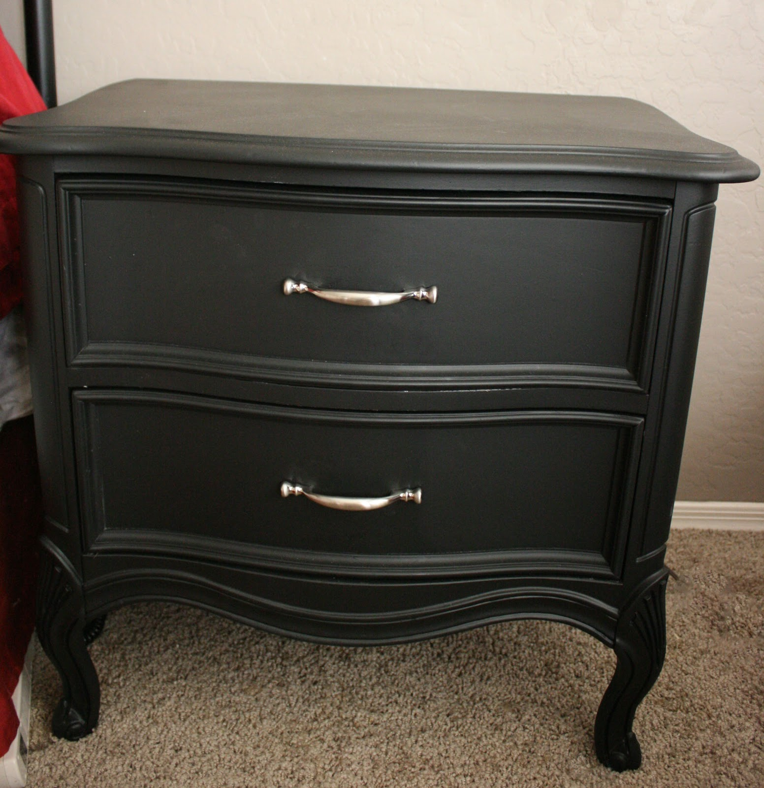 Black Painted Bedroom Furniture