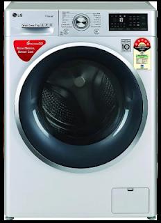 LG 7 Kg Inverter Wi-Fi Fully Automatic Front Loading Washing Machine (FHT1207ZWL)