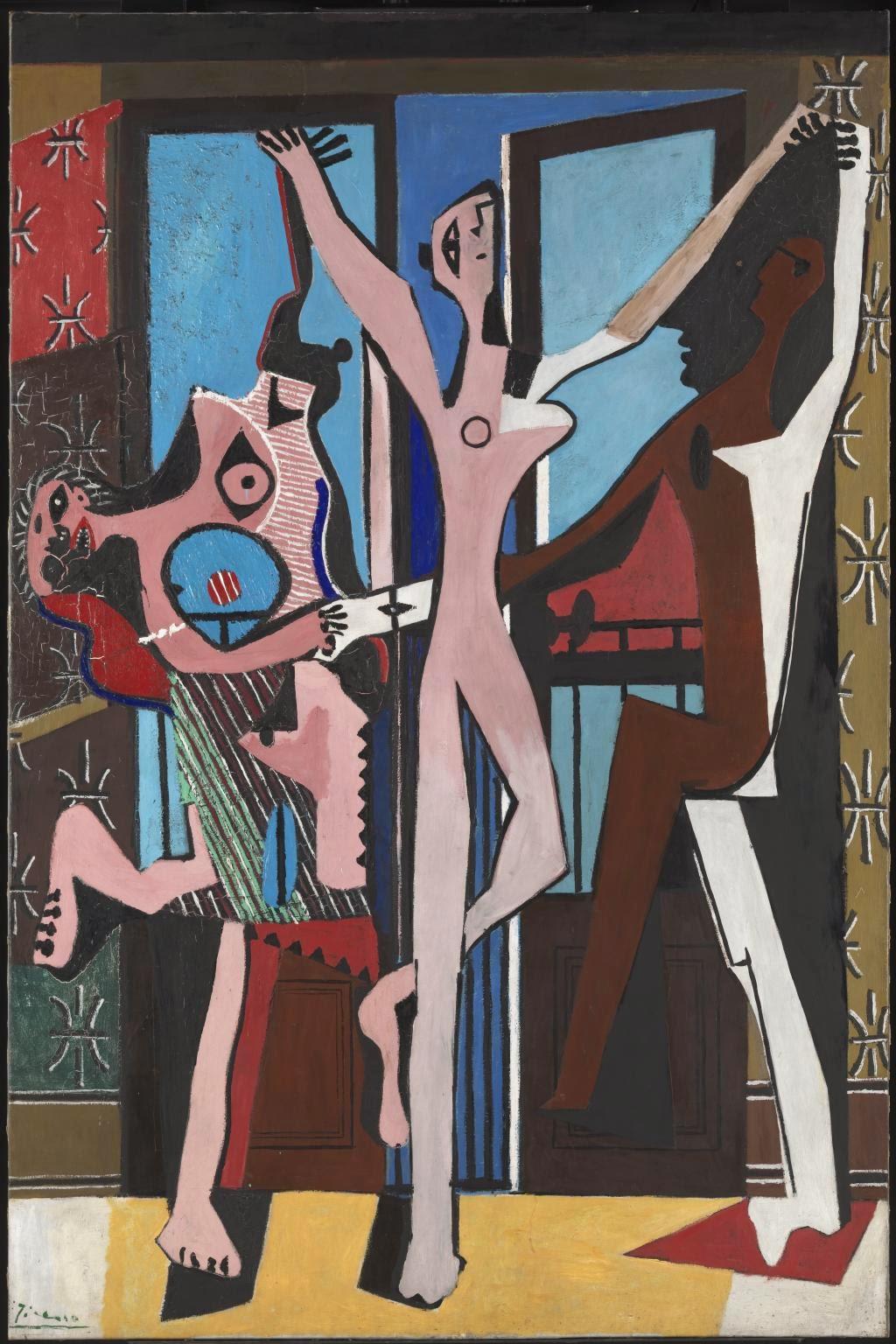 Três Dançarinos - Picasso e suas pinturas ~ O maior expoente da Arte Moderna