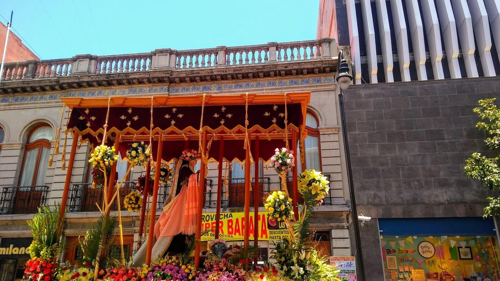 Toluca Paseo De La Virgen Del Carmen 2019