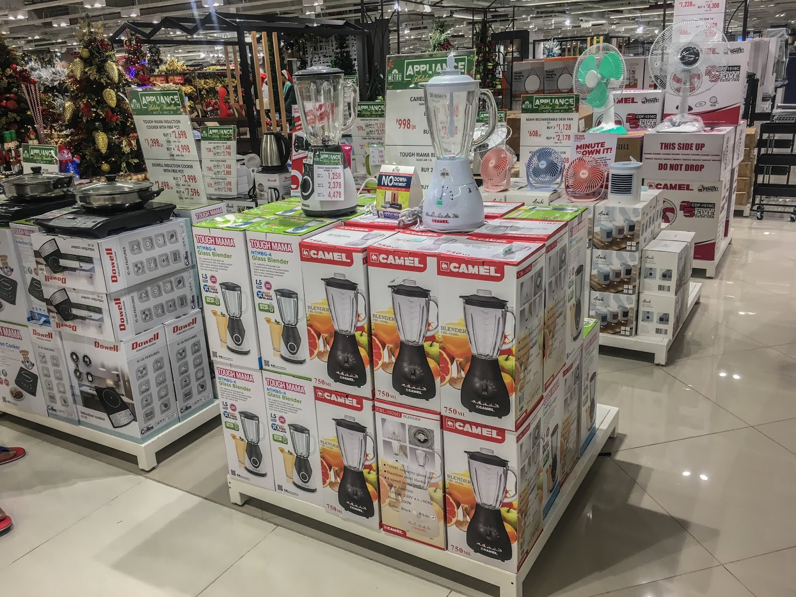 The Metro Stores PRe Christmas Sale Appliances