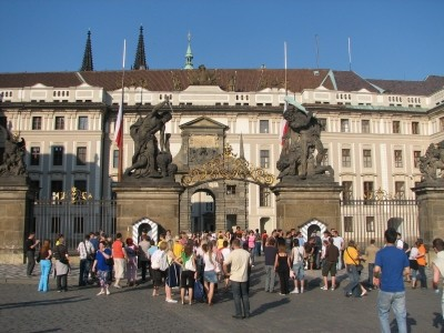 Hradcany Castle  Prague CZ