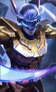 Saber Golden Warrior Heroes Assassin of Skins V1