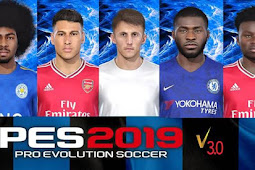 Facepack From DP3.0 PES 2020 Vol.3 - For PES 2019