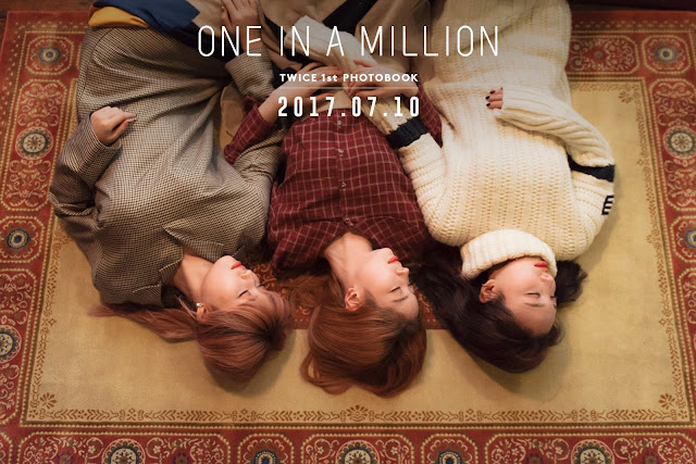 TWICE 寫真 1ST PHOTOBOOK - ONE IN A MILLION