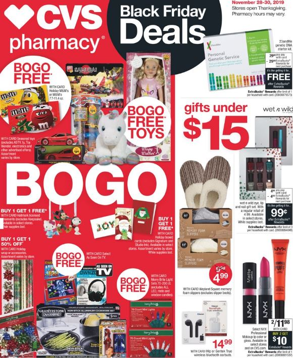 CVS Black Friday 2019 Ad Preview page-1