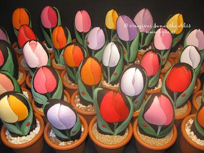 Ricordini festa pensionamento tulipano