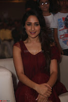Pragya Jaiswal in Stunnign Deep neck Designer Maroon Dress at Nakshatram music launch ~ CelebesNext Celebrities Galleries 116.JPG