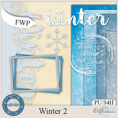 Winter 2 - Nieuw in de winkel van Happy Scrap Arts