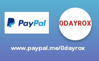 send paypal to 0dayrox