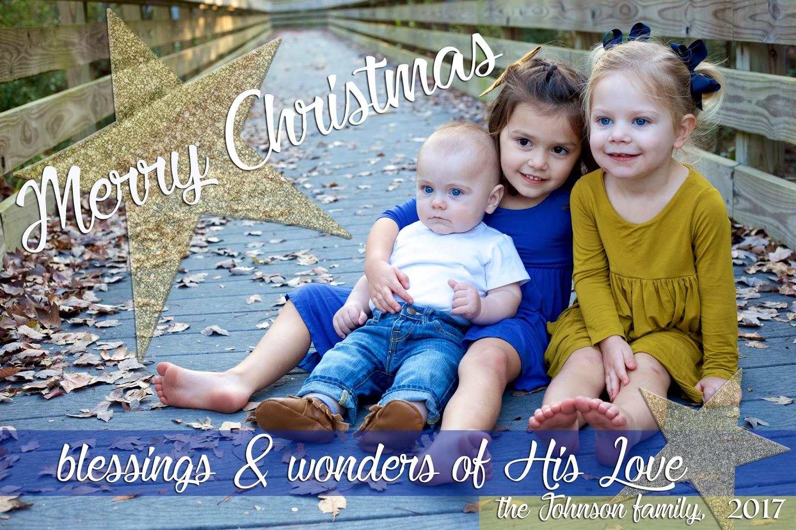 happy holidays 2017 christmas card the johnsons journey