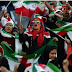 Iranian women finally enter football stadium for first time in 40 years as they watch their team beat Cambodia 14-0
