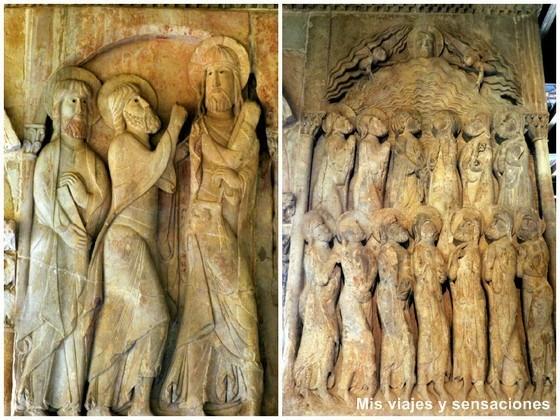 Bajorrelieves del claustro del monasterio de Santo Domingo de Silos, Burgos