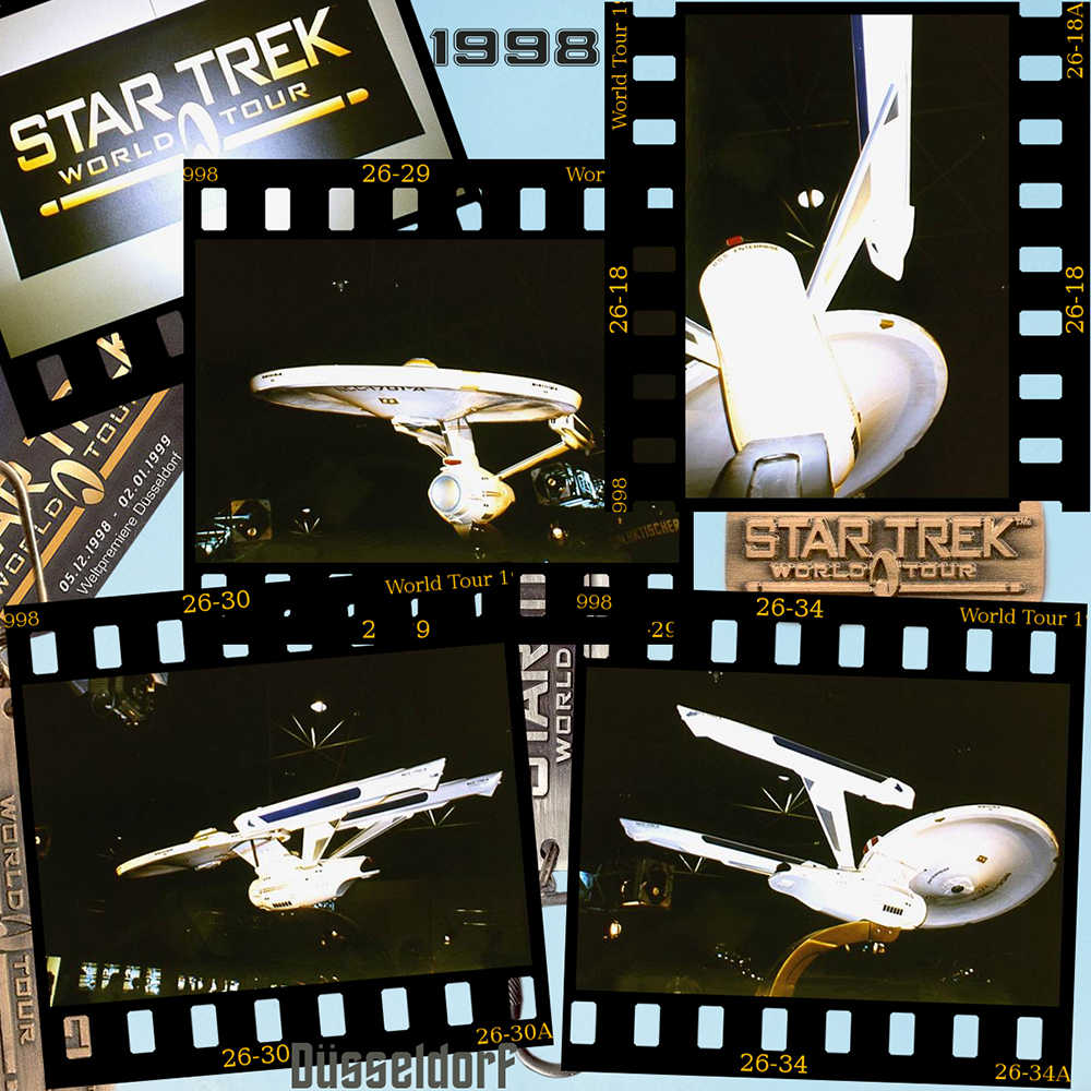 Star Trek World Tour 1998 (slides Düsseldorf)