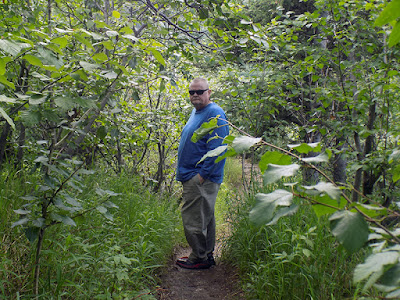 Love this Photo of Paul Walking the Lush Path to Take Another River Photo