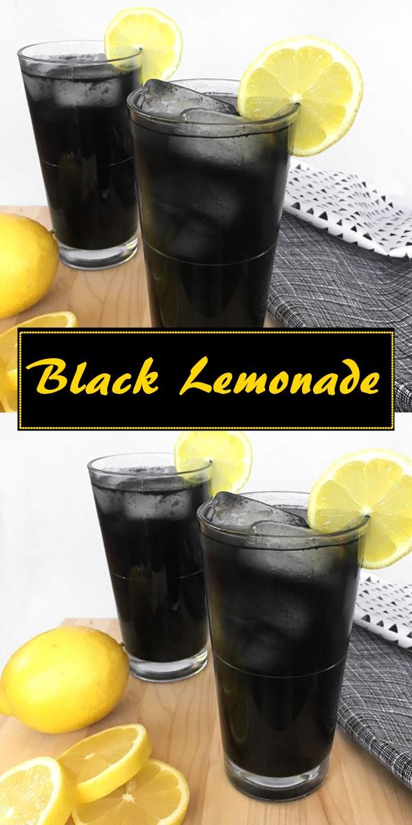 Black Lemonade #halloweenrecipes